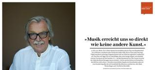 """Siggi Loch: """"Musik erreicht uns so direkt wie keine andere Kunst."""""""