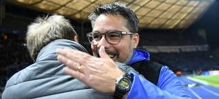 DFB-Pokalspiel Schalke gegen Hertha: Kleine Reibereien