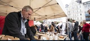Zeitumstellung auf dem Wiener Flohmarkt
