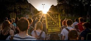 Donnerstag, der Dauer-Demo-Tag