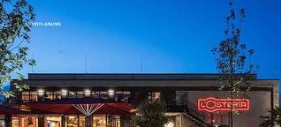 Beleuchtungskonzept für L'Osteria-Restaurants von Kardorff Ingenieure