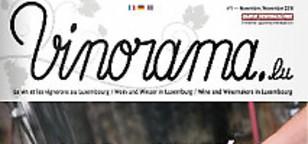 Vinorama, premier magazine dédié à la viticulture luxembourgeoise