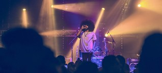 Palästinensisches Musik-Event: Schießen in Gaza, tanzen in Ramallah