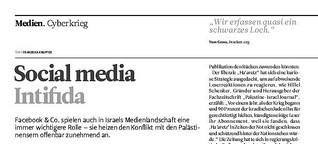 Social Media Intifada