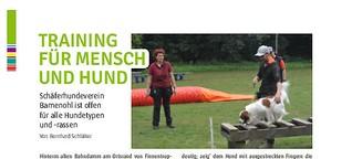 Reportage über den Schäferhundeverein Bamenohl