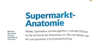 Supermarkt-Anatomie
