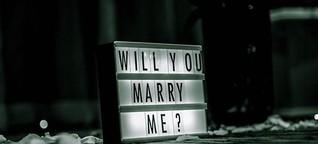 Verliebt, verlobt, verheiratet - das Ja-Wort via Whatsapp