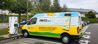 Maxus EV80 von Hertz zur Miete bei Ikea - ein Selbstversuch - electrive.net