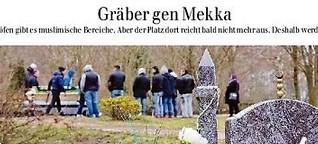 Gräber gen Mekka