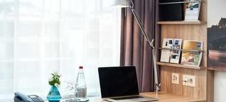 Statt in den Coworking-Space können Freiberufler nun ins Hotel zum Arbeiten