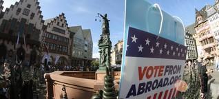 Donald Trump gegen Joe Biden: Wie Amerikaner im Ausland abstimmen können - DER SPIEGEL - Politik