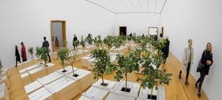 Yoko Ono in Leipzig - Zitronenbäume wachsen aus den Särgen