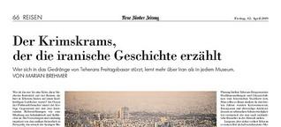 NZZ: Der Krimskrams, der die iranische Geschichte erzählt