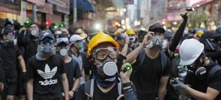 """Junge Demonstrierende in Hongkong: """"Wir bereiten uns darauf vor, dass jemand sterben wird"""""""