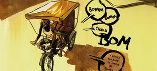 Reisereportagen als Comics - Auf dem Zeichentrip
