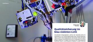 Titelthema: Qualitätssicherung im blau-violetten Licht