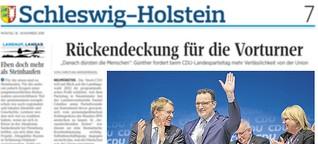 CDU Parteitag in Neumünster