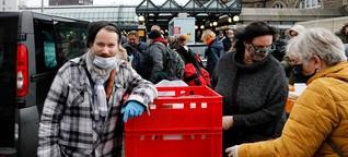 """So leiden Obdachlose unter Corona: """"Ohne Schuhe bist du im Winter verloren"""""""