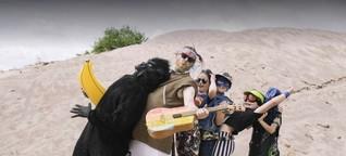 """Zuckerblitz Band: """"Vielleicht sind wir die Band, mit der Kinder das erste Mal gegen ihre Eltern rebellieren"""""""