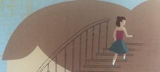 Emmas Tränen an der Treppe