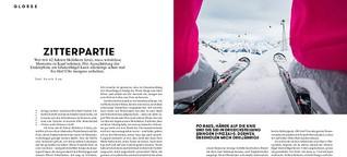 Alp-Traum: Wer mit 42 Jahren Skifahren lernt, muss würdelose Momente in Kauf nehmen. Und lernt, warum der Idiotenhügel seinen Namen trägt