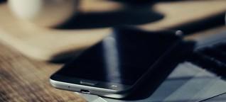 Wie das Smartphone bei der Behandlung hilft