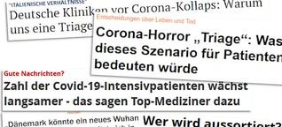 Corona-Berichte zwischen Panik und verfrühter Hoffnung | Übermedien