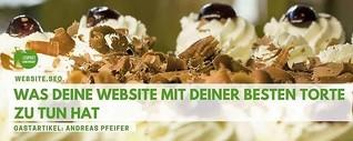 GASTRO. WEBSITE. SEO. - Was deine Website mit deiner besten Torte zu tun hat