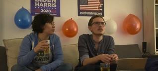 ARD Mittagsmagazin:    US-Wahlnacht in Berlin