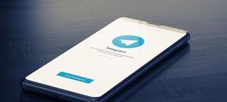 Telegram: Dark Web im App-Store