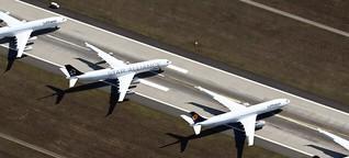 EasyJet lässt alle seine Flugzeuge am Boden
