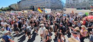 Corona-Demo Berlin: Was diese Menschen auf die Straße zieht