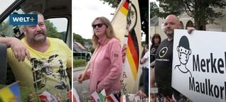 B96-Proteste bei Bautzen: Reichsflaggen und Corona-Leugner (WELT PLUS)