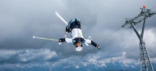 Laura Grasemann: Ski-Freestyle auf der Buckelpiste - Interview Teil 1