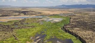 """Das """"Rift Valley"""" - wo Afrika in zwei Kontinente zerbricht"""