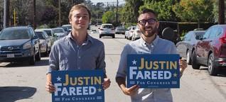 Mit jungen Rechten unterwegs im US-Wahlkampf