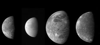 Hitzewellen im Weltall - Wie sich die Jupitermonde gegenseitig durchkneten
