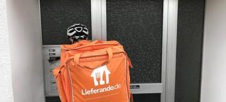 Lieferdienste im Vergleich: Unterwegs mit Lieferando - und dem lokalen Pizzaboten