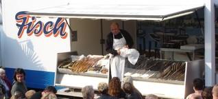 DLF Kultur: Hamburger Fischmarkt öffnet wieder - Händler enttäuscht von strengen Auflagen