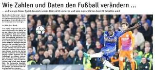 Wie Zahlen und Daten den Fußball verändern (Neues Deutschland)