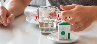 Tee aus der Hosentasche