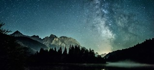 Milchstraße in voller Pracht: Der Sternenhimmel im September