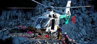 Mit Turnschuhen auf die Zugspitze: Wer zahlt die Bergrettung?