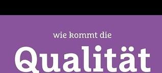 Erwachsenenbildung: Qualität ist kein Zufall