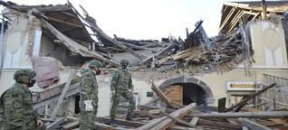 Starkes Erdbeben in Kroatien