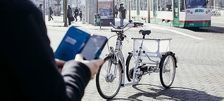 Autonomes E-Bike - Test in Magdeburg