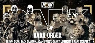 Dark Order dominating AEW Dark card
