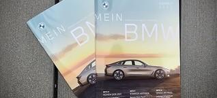 """Kundenmagazin """"MeinBMW"""""""