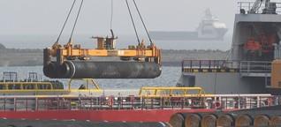 Besuch an der Nord-Stream-2-Baustelle: Der Kampf um die letzten Meter - DER SPIEGEL - Politik