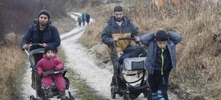 """Flüchtlingskinder singen Lied der Hoffnung - """"Ich habe einen Traum in meinem Kopf"""""""